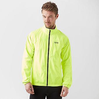 New Gore Men's R3 GORE-TEX Outdoors Active Jacket Yellow