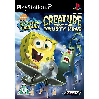 SpongeBob SquarePants Creature from the Krusty Krab (PS2) - Nieuwe fabriek verzegeld