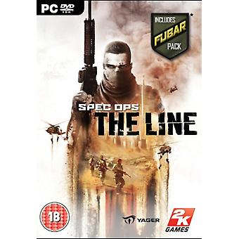 Spec Ops The Line - Y compris Fubar pack (PC DVD) - Factory Sealed