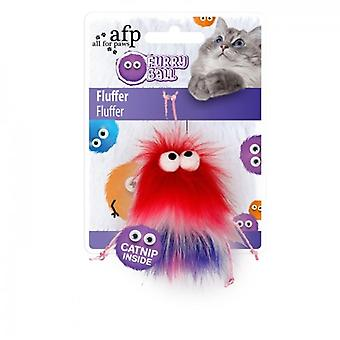 AFP Fluffer Rojo Furry Ball (Cats , Toys , Teaser Wands)