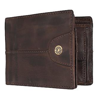 Bruno banani mens wallet wallet purse Brown 6862