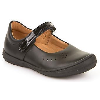 Froddo flickor G3140053 skola skor svart läder