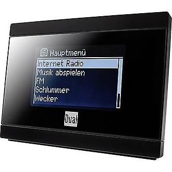 Podwójny ir 2A Internet radio adapter FM Radio Czarne