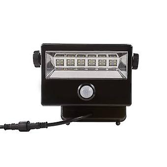 DioDor DIO-FL16W-WM-SP-B Solar spotlight 16 W Cold white Black