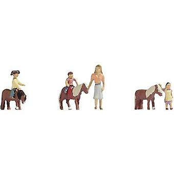 NOCH 15635 H0 Figures pony riding