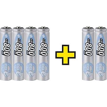 Ansmann maxE HR03 AAA battery (rechargeable) NiMH 800 mAh 1.2 V 6 pc(s)
