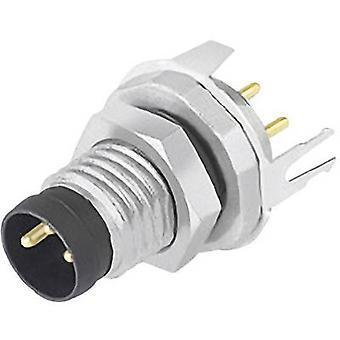 Binder 09 3421 81 04-1 Sensor/actuator built-in connector M8 Plug, mount No. of pins (RJ): 4 1 pc(s)