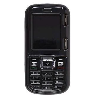 Wireless Solutions Snap On Case for LG LX265 AX265 UX265 Rumor 2 Rumor2 (Black)