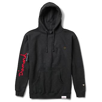 Diamond Supply Co Snake Hoodie Black