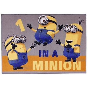 One in a Bedroom carpet Minion 95x133cm
