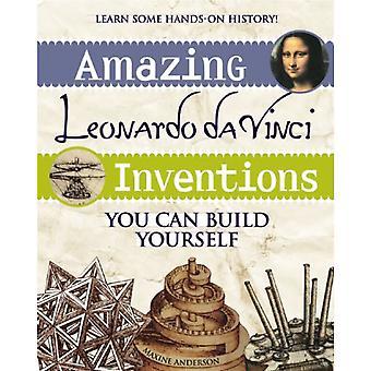 Sterling kirjoja hämmästyttävä Leonardo da Vinci keksintöjen: voit voi rakentaa itse