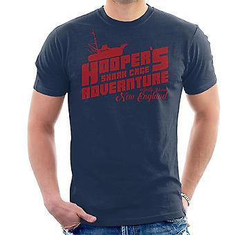 Jaws Hoopers Shark Cage Adventure Men's T-Shirt