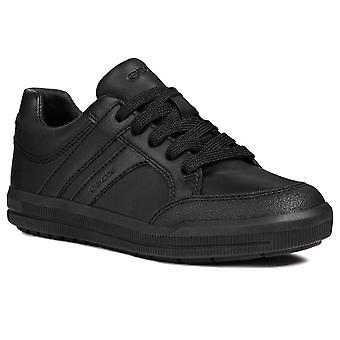 Geox Azach Lace Boys Junior School Shoes