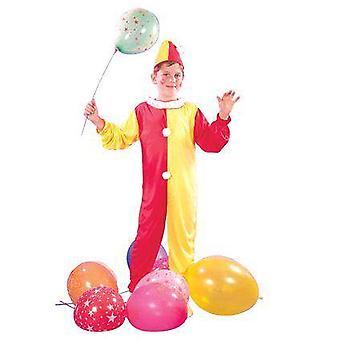 Kinder Clownskostüm, groß.