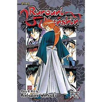 Rurouni Kenshin (3-in-1 Edition) - Vol. 3 - Includes Vols. 7 - 8 & 9 b