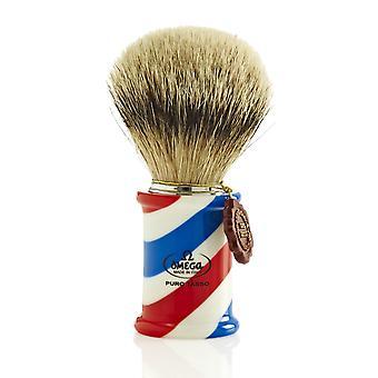 Омега 6735 1 класс супер барсук волос бритья кисти