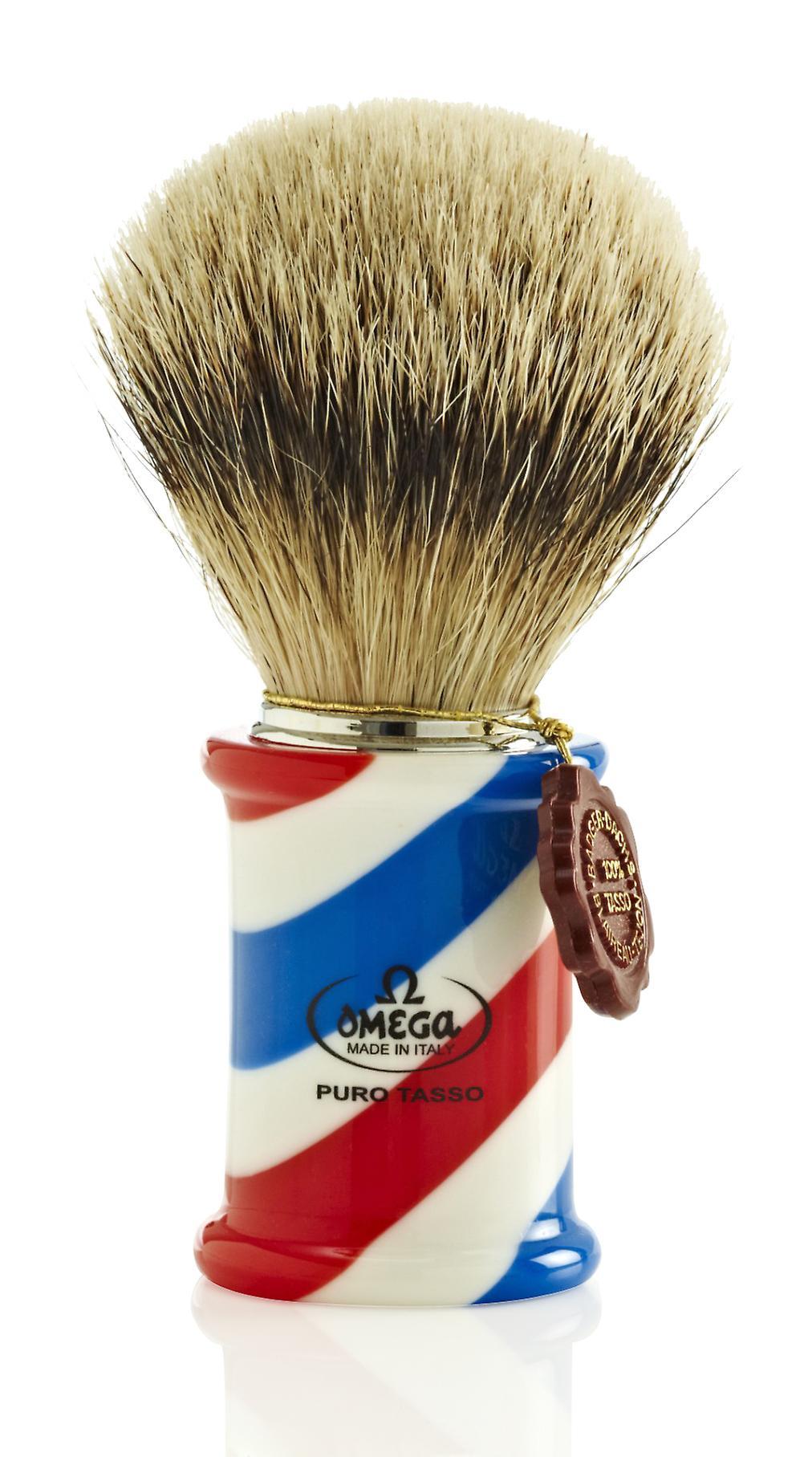 Omega 6735 1st Grade Super Badger Hair Shaving Brush