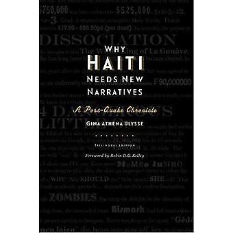 Varför Haiti behöver nya berättelser: En efter skalvet krönika