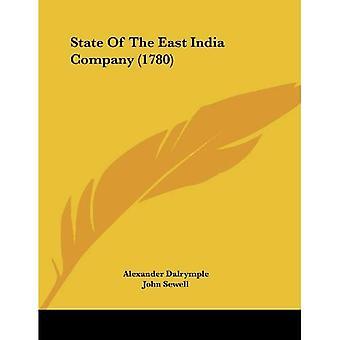 Staat van de East India Company (1780)