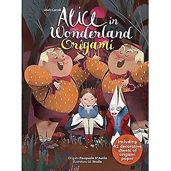 Alice in Wonderland-Origami