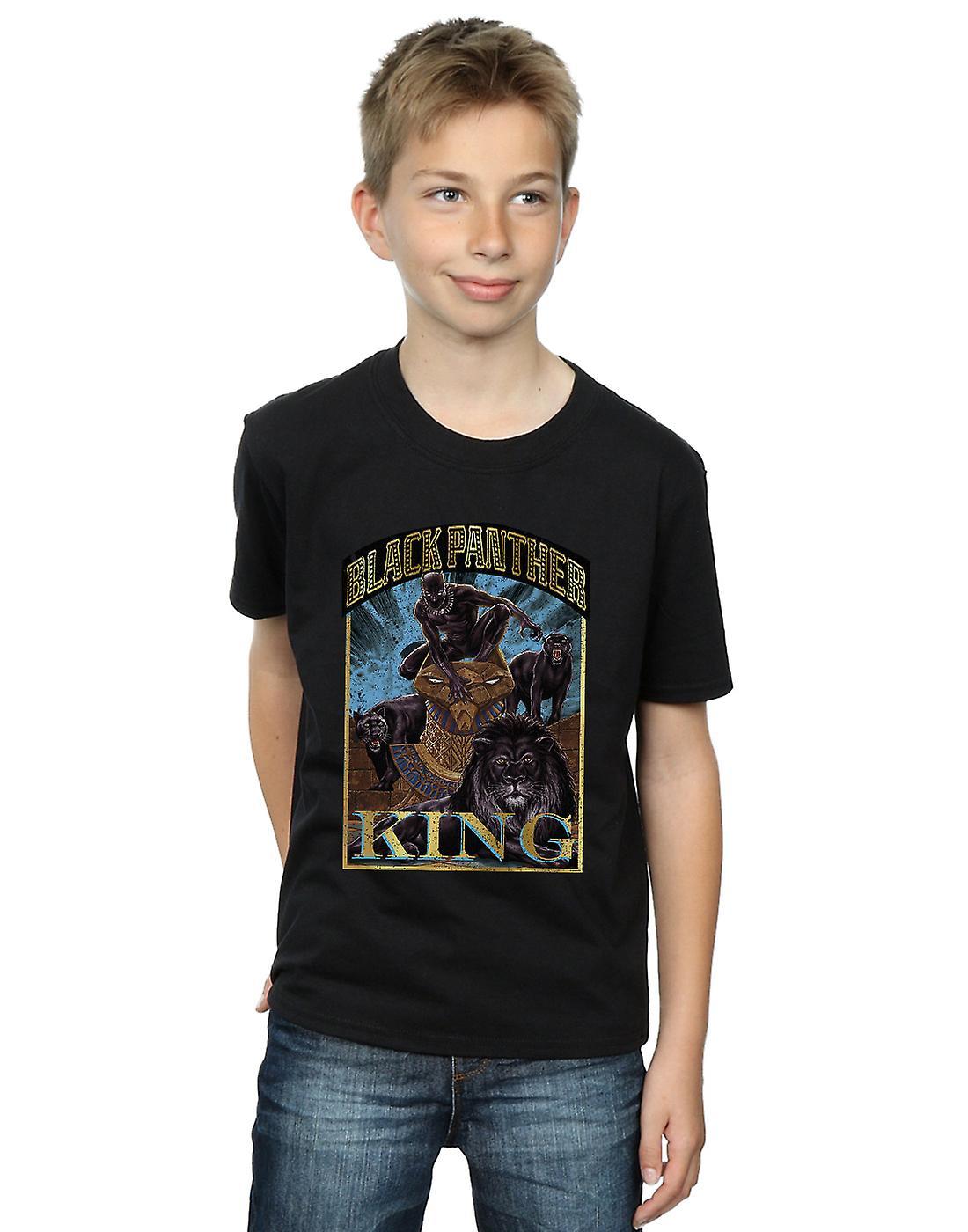 Marvel Boys Black Panther Homage T-Shirt