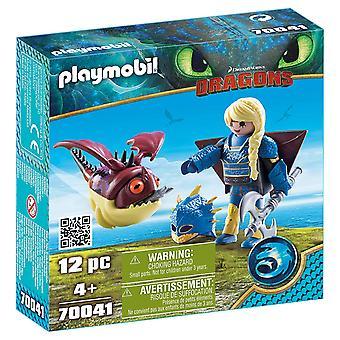 أستريد Playmobil 70041 مع هوبجوبلير