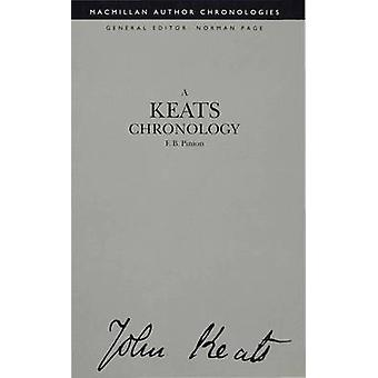 Keats Chronology by Pinion & F. B. Formerly Reader in Englis