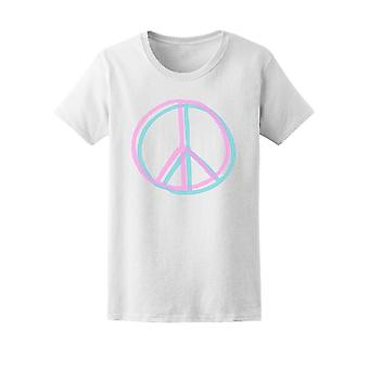 Peace Sign (Highlight Style) Tee Men's -Image by Shutterstock