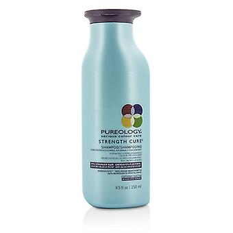Pureology Strength Cure Shampoo (for Micro-scarred/ Damaged Colour-treated Hair) - 250ml/8.5oz