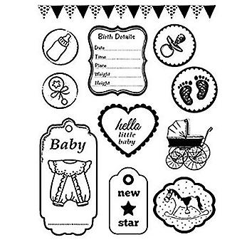 Stamperia Natural Rubber Stamp Baby (WTKCC23)