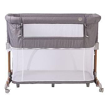 Kite Gold Nebula Crib Bed Side Baby Sleeper Playpen