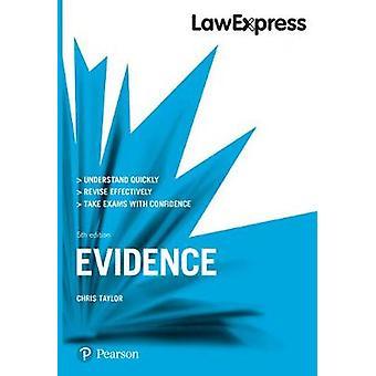 Law Express - Evidence by Law Express - Evidence - 9781292210193 Book