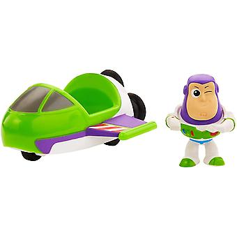Disney Pixar Toy Story 4 Mini Figure Buzz with Vehicle