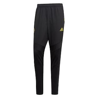 2019-2020 Man Utd Adidas Warm Pants (Black)