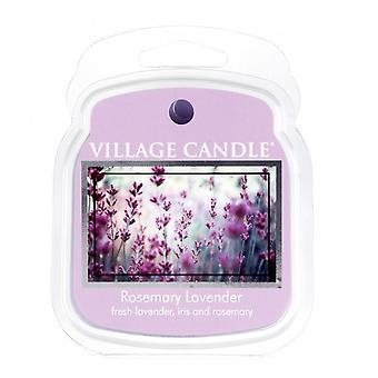 Dorf Kerze Wachs Schmelzpackungen für den Einsatz mit Schmelztorte & Ölbrenner Rosmarin Lavendel
