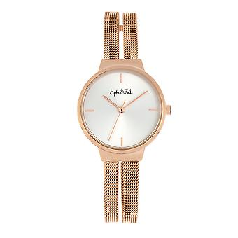 Sophie and Freda Sedona Bracelet Watch - Rose Gold