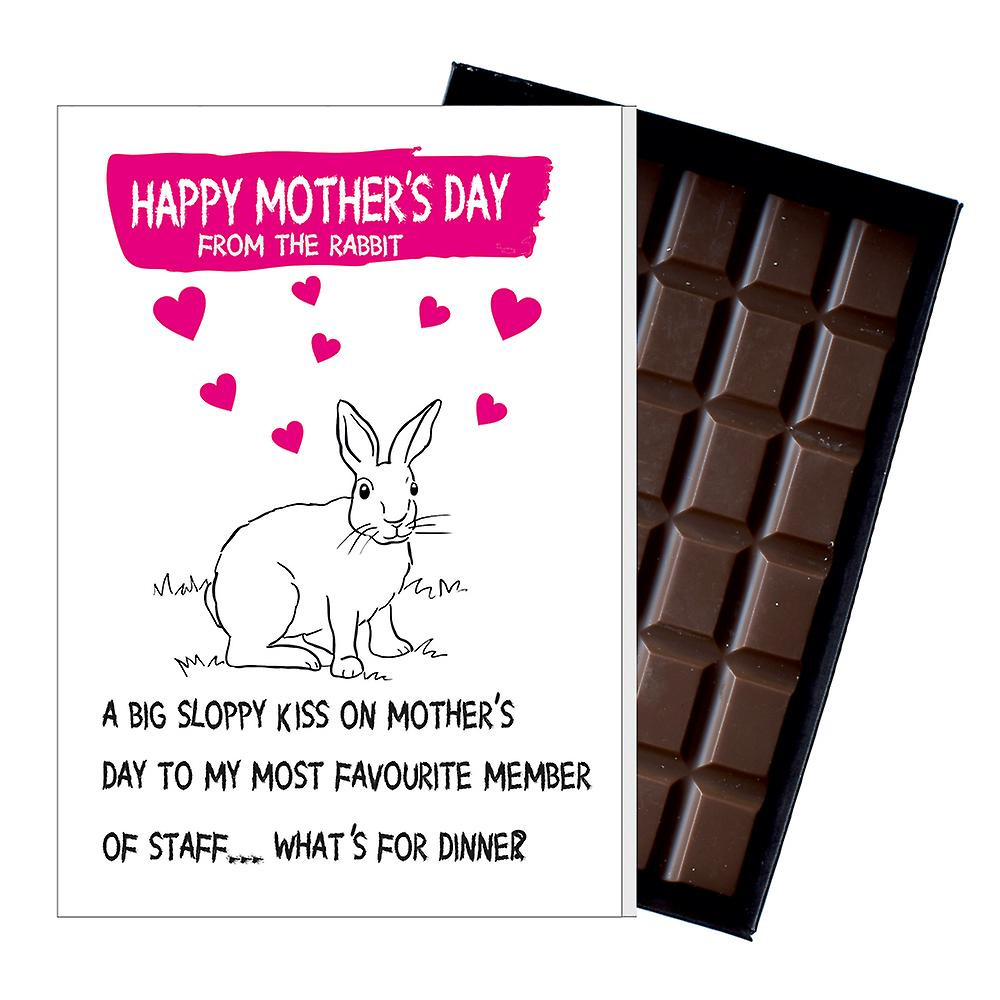 Funny Mother's Day Gift Boxed Chocolate Present Rude Greeting Card For Mom Mum Mumy MIYF146
