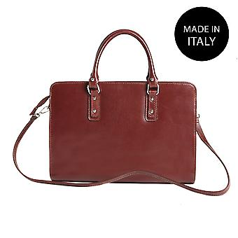 Handbag made in leather 9047