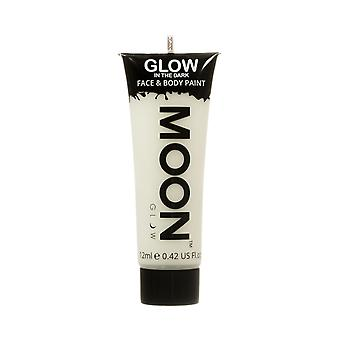 Moon Glow - 12ml Glow in the Dark Face & Body Paint - Invisible