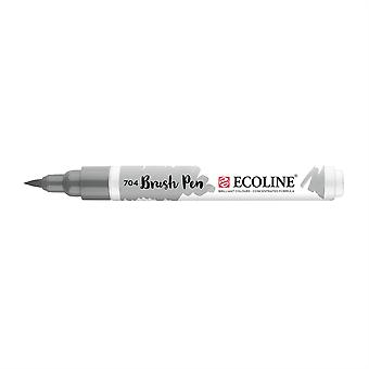 Talens Ecoline Liquid Watercolour Brush Pen - 704 Grey