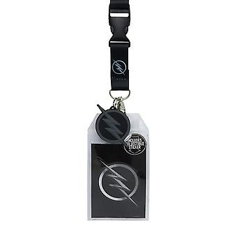 La serie Flash TV Zoom Lanyard con PVC Charm