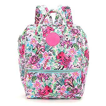 CYP Backpack Mouth Larga 37 cm Flowers Chimola Multicolor (MC-36-CH
