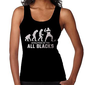 Evolution Of New Zealand Rugby All Blacks Women's Vest