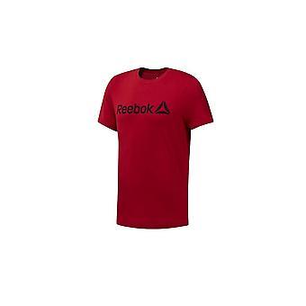 リーボック Qqr 線形 DH3782 普遍的なすべての年の男性 t シャツ