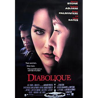 Diabolique (فيديو) الأصلي فيديو / دي في دي ملصق الإعلان