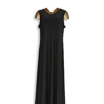 Attitudes by Renee Petite Dress LP Como Jersey Black A347505