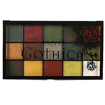 Technic Gothica Pressed Pigments Eyeshadow Palette