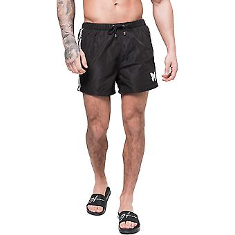 Good For Nothing Racer Swim Shorts Black 17