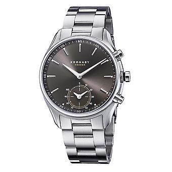 Kronaby S0720-1 Men's Sekel Smartwatch Steel Bracelet