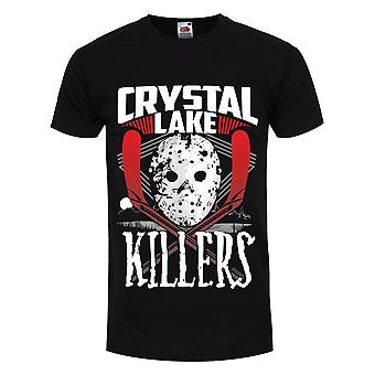 T-shirt Grindstore Mens Crystal Lake Killers